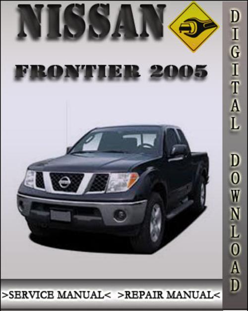 nissan frontier 2005 manual