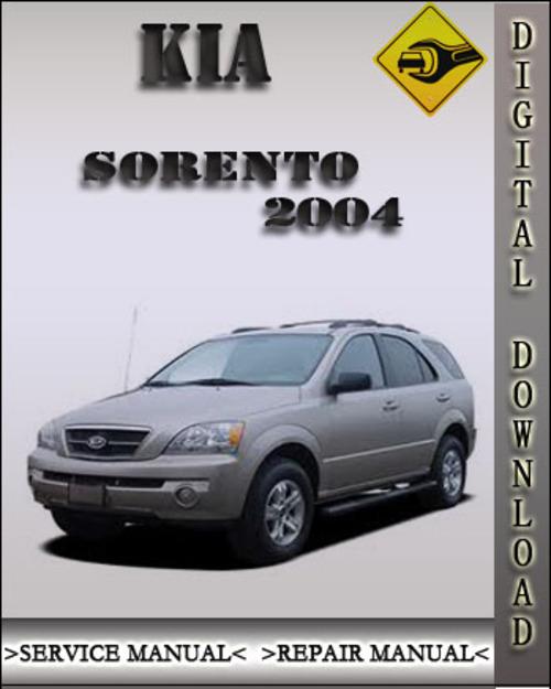 2004 kia sorento factory service repair manual download manuals rh tradebit com 2004 Kia Sorento Lock 2004 Kia Sorento Lock