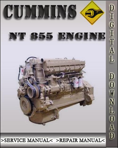 Cummins nt855 big cam Manual
