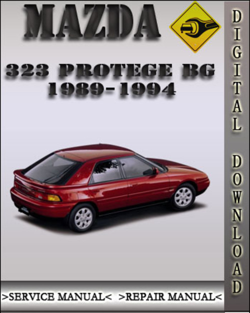 1989 1994 mazda 323 protege bg factory service repair manual 1990 1 rh tradebit com
