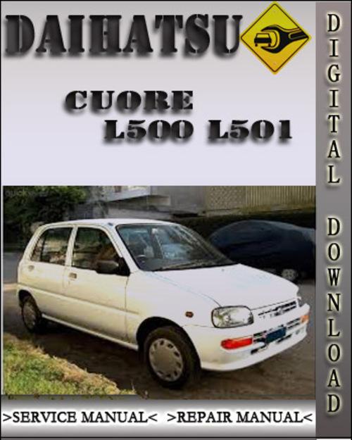 Pay For Daihatsu Cuore L500 L501 Factory Service Repair Manual: Daihatsu Cuore Engine Diagram At Hrqsolutions.co
