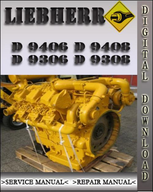 Liebherr D 9406 D 9408 D 9306 D 9308 Diesel Engine Factory