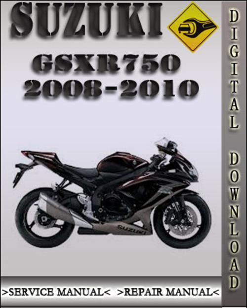 suzuki gsxr750 2008 factory service repair manual autos post. Black Bedroom Furniture Sets. Home Design Ideas