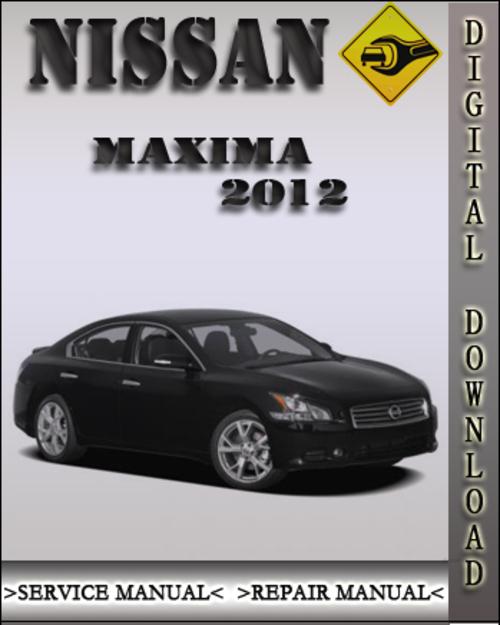 2012 Nissan Maxima Factory Service Repair Manual