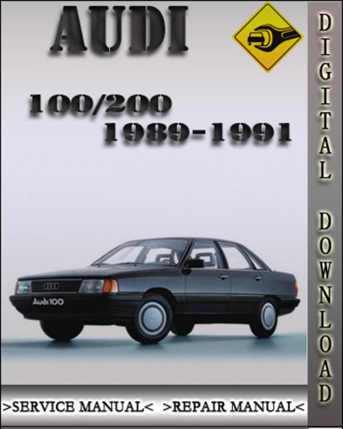 1989 1991 audi 100 200 factory service repair manual 1990 downloa rh tradebit com Haynes Auto Repair Manuals Factory Auto Repair Manual