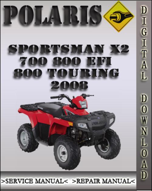 2008 polaris sportsman x2 700 800 efi 800 touring factory. Black Bedroom Furniture Sets. Home Design Ideas