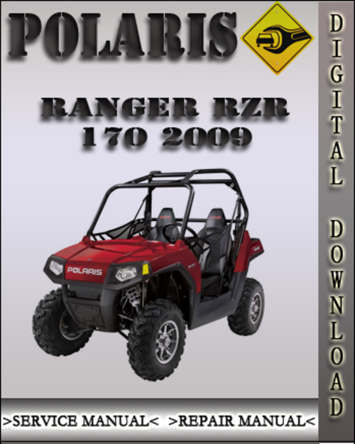 polaris rzr 170 service manual repair 2012 2013 utv