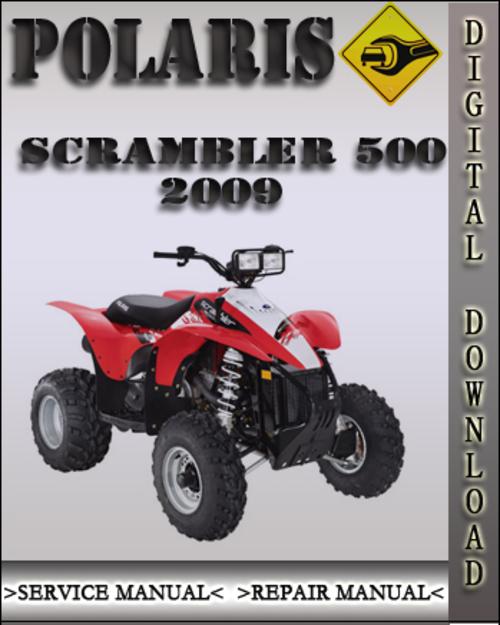 polaris scrambler 500 2009 workshop manual