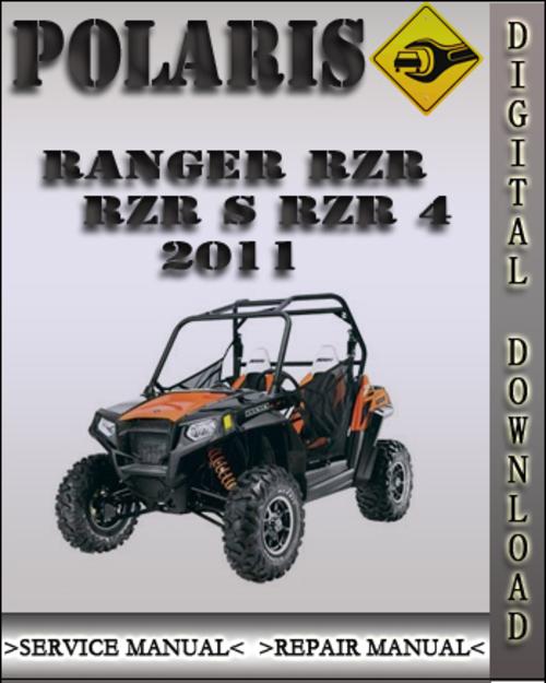 polaris ranger rzr 800 rzr s rzr eps full service repair manual 2011