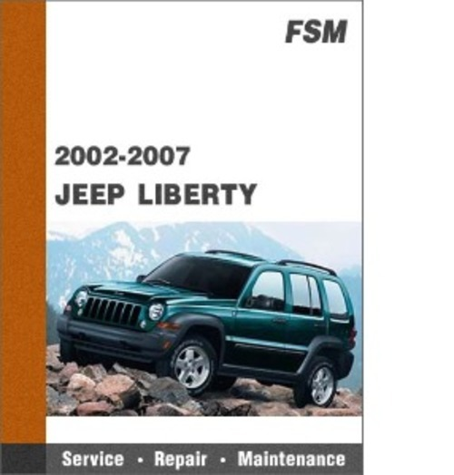 jeep liberty kj 2002 2007 service repair manual autos post. Black Bedroom Furniture Sets. Home Design Ideas