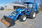 Thumbnail NEW HOLLAND T1530 TRACTOR WITH HYDROSTATIC TRANSMISSION AND GEAR TRANSMISSION OPERATORS MANUAL