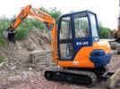 Thumbnail HITACHI EX30 MINI EXCAVATOR PARTS CATALOG MANUAL ( Serial Number:  000101 and up )