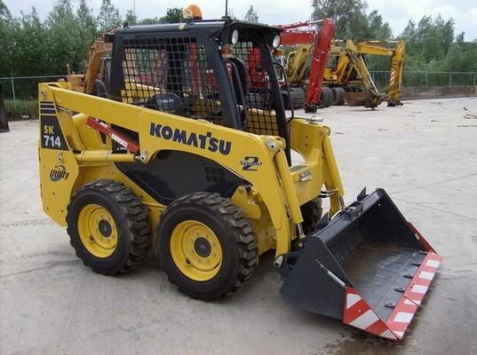 Pay for KOMATSU SK714-5 SK815-5 SK815-5 TURBO SERVICE SHOP MANUAL
