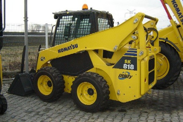 Pay for KOMATSU SK818-5 SK820-5 TURBO SKID STEER SERVICE SHOP MANUAL