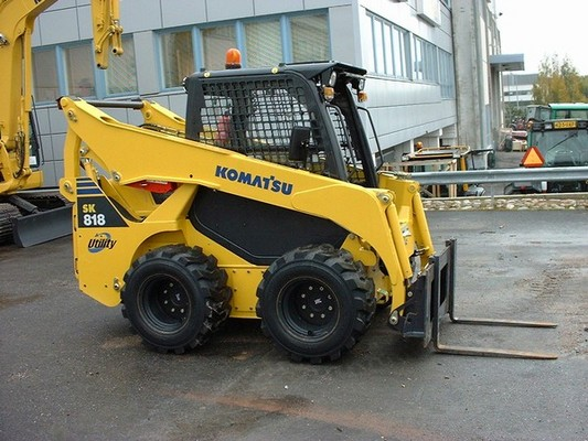 Pay for KOMATSU SK818-5 SK820-5 T SKID STEER SERVICE SHOP MANUAL #2