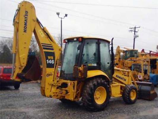 komatsu wb146 5 backhoe loader service shop repair manual. Black Bedroom Furniture Sets. Home Design Ideas