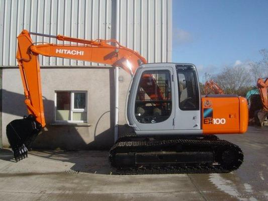 Pay for HITACHI EX100-5 EXCAVATOR SERVICE  MANUAL
