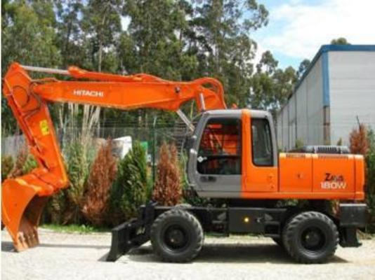 Pay for HITACHI ZAXIS 180W WHEELED EXCAVATOR SERVICE  MANUAL SET