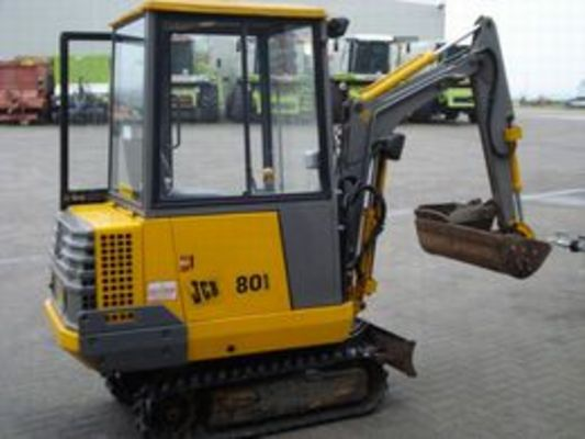 Pay for JCB 801 TRACKED EXCAVATOR SERVICE MANUAL