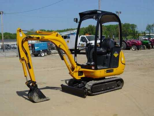 Pay for JCB 8014 8016 8018 EXCAVATOR SERVICE MANUAL