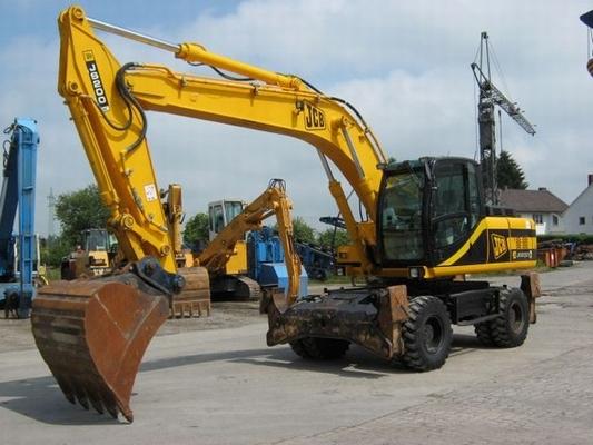 jcb js200w wheeled excavator service manual download. Black Bedroom Furniture Sets. Home Design Ideas