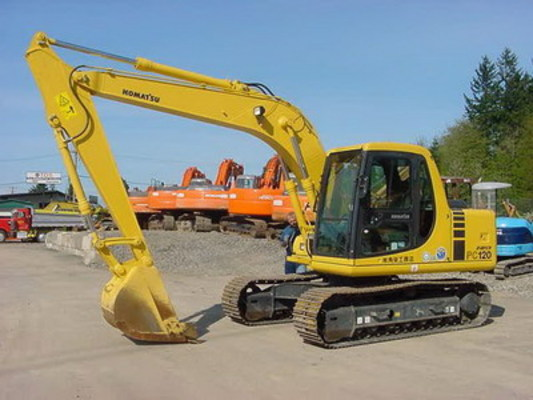 Pay for KOMATSU PC100-6 PC120-6 EXCAVATOR SERVICE SHOP MANUAL