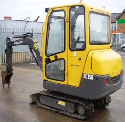 volvo ec15b xr compact excavator service repair manual download m rh tradebit com Digger Truck Digger Truck