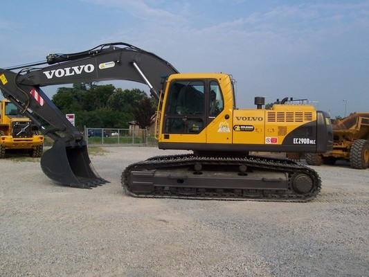 volvo ec290b nlc excavator service repair manual download manuals rh tradebit com Volvo Excavator Track Volvo EC210CL Excavator Buckets