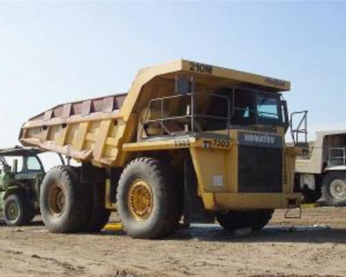 Pay for KOMATSU 210M DUMP TRUCK SERVICE SHOP MANUAL