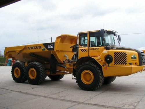 Pay for VOLVO A25E ARTICULATED DUMP TRUCK SERVICE REPAIR MANUAL