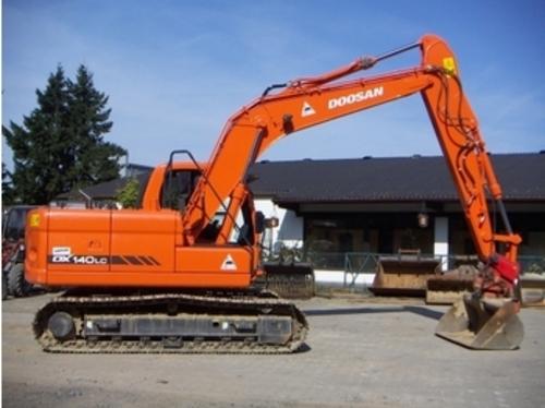 daewoo doosan dx140lc excavator service shop manual download manu rh tradebit com daewoo 130 excavator manual Liebherr Excavator