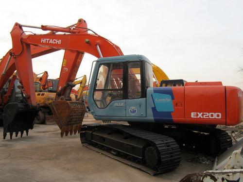 Manual de excavadora hitachi ex200.