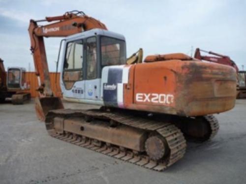 hitachi ex200 2 ex200lc 2 excavator operators manual download man rh tradebit com EX200 Material Baic EX200