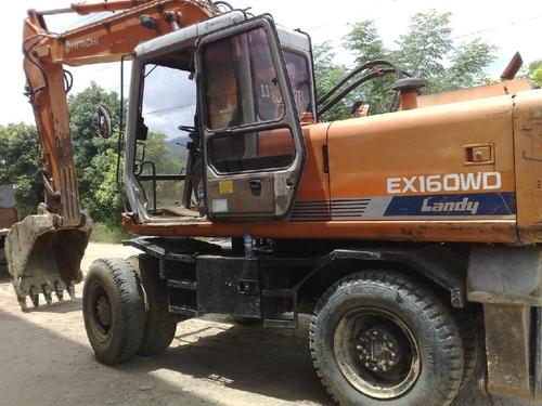 Pay for HITACHI EX160WD WHEELED EXCAVATOR OPERATORS MANUAL
