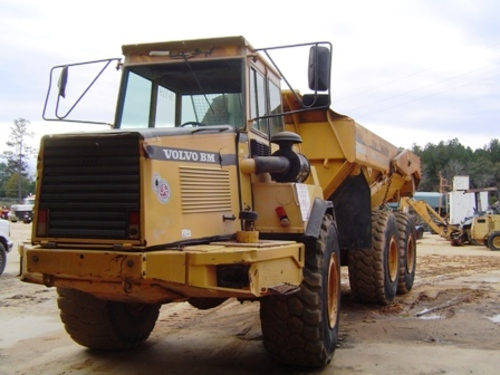 Pay for VOLVO BM A25C ARTICULATED DUMP TRUCK SERVICE REPAIR MANUAL