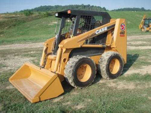 case 420 skid steer loader parts catalog manual