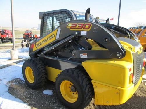 new holland l230 skid steer loader service repair manual download rh tradebit com New Holland L230 Attachments new holland l230 service manual