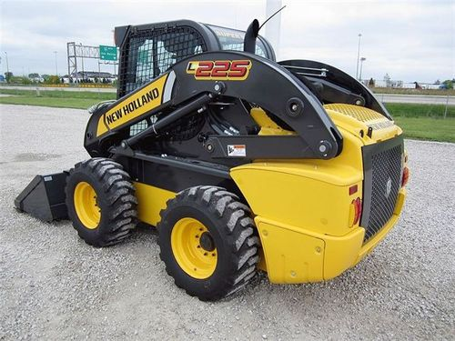 new holland l225 skid steer loader service repair manual download rh tradebit com New Holland L225 Skid Steer New Holland L230 Oil Change