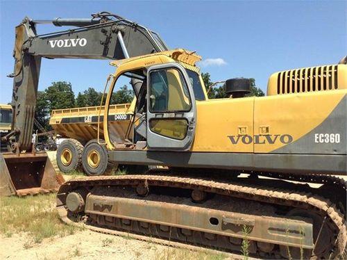 VOLVO EC360LC EC360 LC EXCAVATOR SERVICE REPAIR MANUAL - Download M...