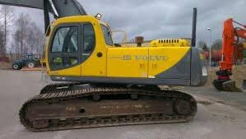 volvo ec290 excavator service repair manual download manuals rh tradebit com Volvo Excavator Toy Baby Volvo Excavator Track