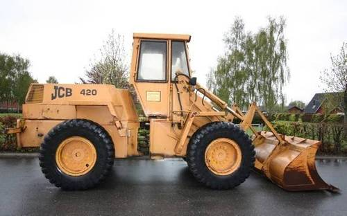 jcb 420 wheel loader parts catalog manual 1 download manuals am rh tradebit com Wheel Loader Brake System volvo wheel loader parts manual