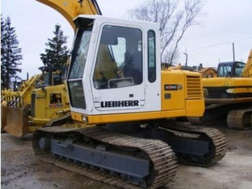 Liebherr R310 Hydraulic Excavator Operators Operating Manual Serial No From 101 1000 Tradebit