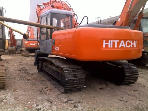 HITACHI EX200-5 EX200LC-5 EX210H-5 EX210LCH-5 EXCAVATOR OPERATORS ...