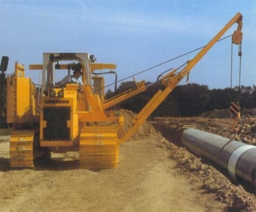 Pay for LIEBHERR RL 42B PIPE LAYER DOZER OPERATORS OPERATING MANUAL (Serial no. from: 3028)