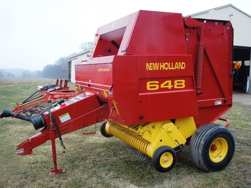 new holland 648 658 678 688 round baler features product manual d rh tradebit com new holland 658 operator's manual new holland 658 round baler manual