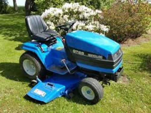 Pay For NEW HOLLAND GT65 GT75 GARDEN TRACTOR AND 48CMS MOWER DECK OPERATORS  MANUAL