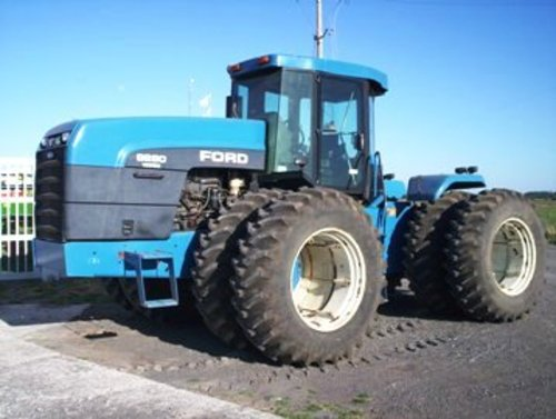 New Holland Ford >> New Holland Ford 9280 9480 9680 9880 Tractor Operators