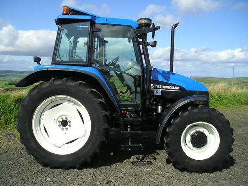 NEW HOLLAND TS90 TS100 TS110 TS115 SYNCHRO COMMAND AND ELECTROSHIFT WITH  POWER SHUTTLE TRACTOR OPERATORS MANUAL