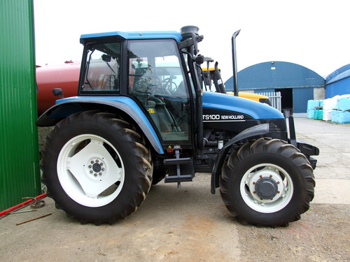 Gemeinsame NEW HOLLAND TS90 TS100 TS110 TRACTOR WITH ECONOSHIFT TRANSMISSION O... &FZ_39