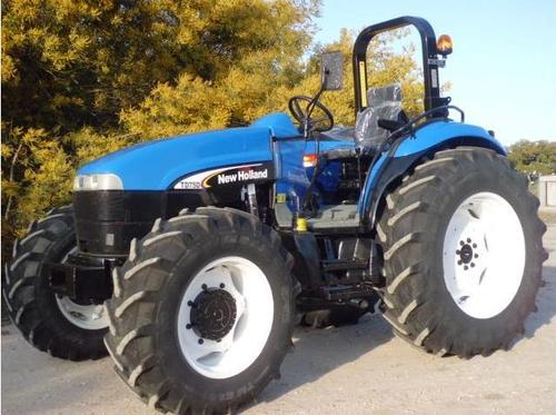 New Holland Tractor Pedals : New holland td d with pedals mounted high
